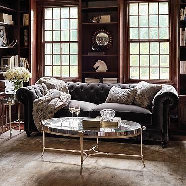 Barrow Chesterfield Upholstered Sofa