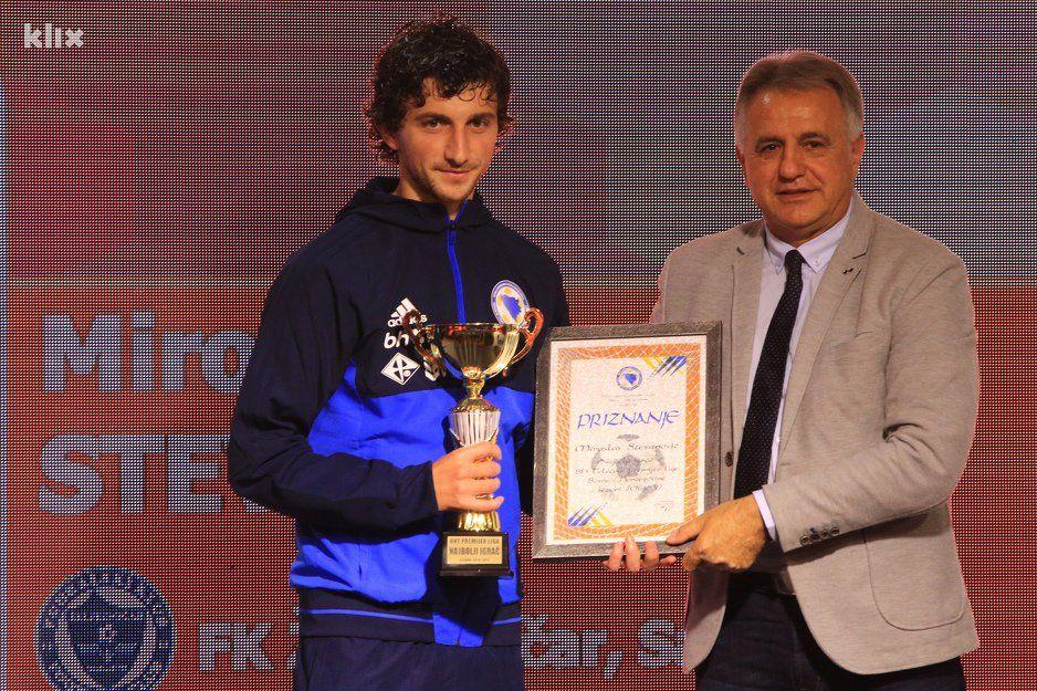 Miroslav Stevanovic Najbolji Igrac Premijer Lige Bih U Sezoni 2016 17 Klix Ba Sarajevo