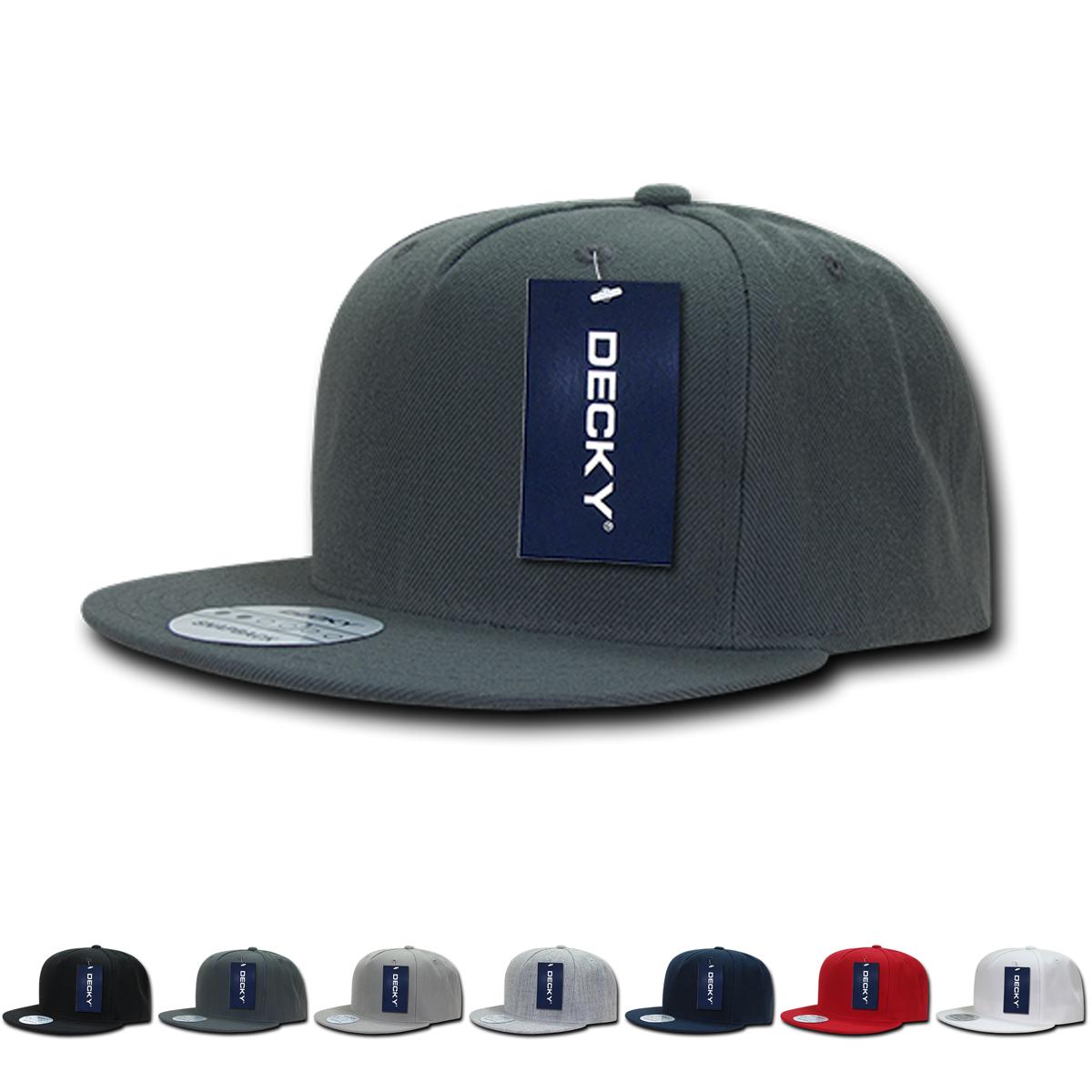 Wholesale Blank 5 Panel Snapback Flat Bill Hats Decky 333 Flat Bill Hats Wholesale Blanks Hats