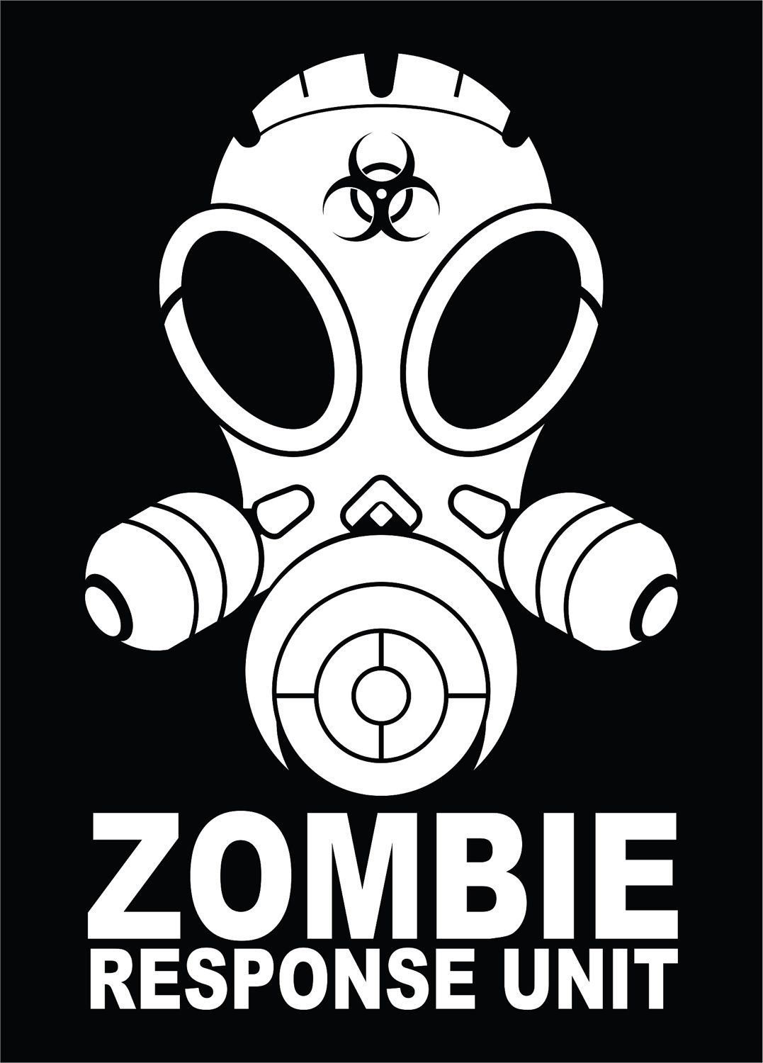 Zombie Response Unit Vinyl Decal Sticker Outbreak Vehicle Horror - Hunting decals for trucksonestate rack attack truck van window vinyl decal sticker