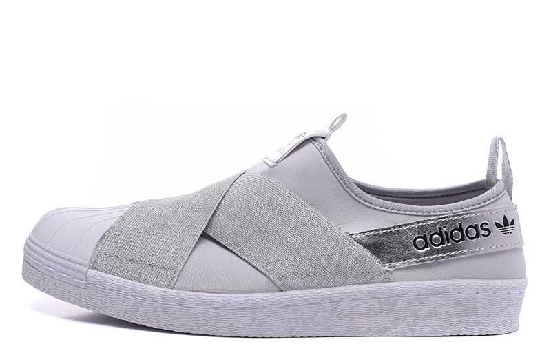 adidas superstar grå dam