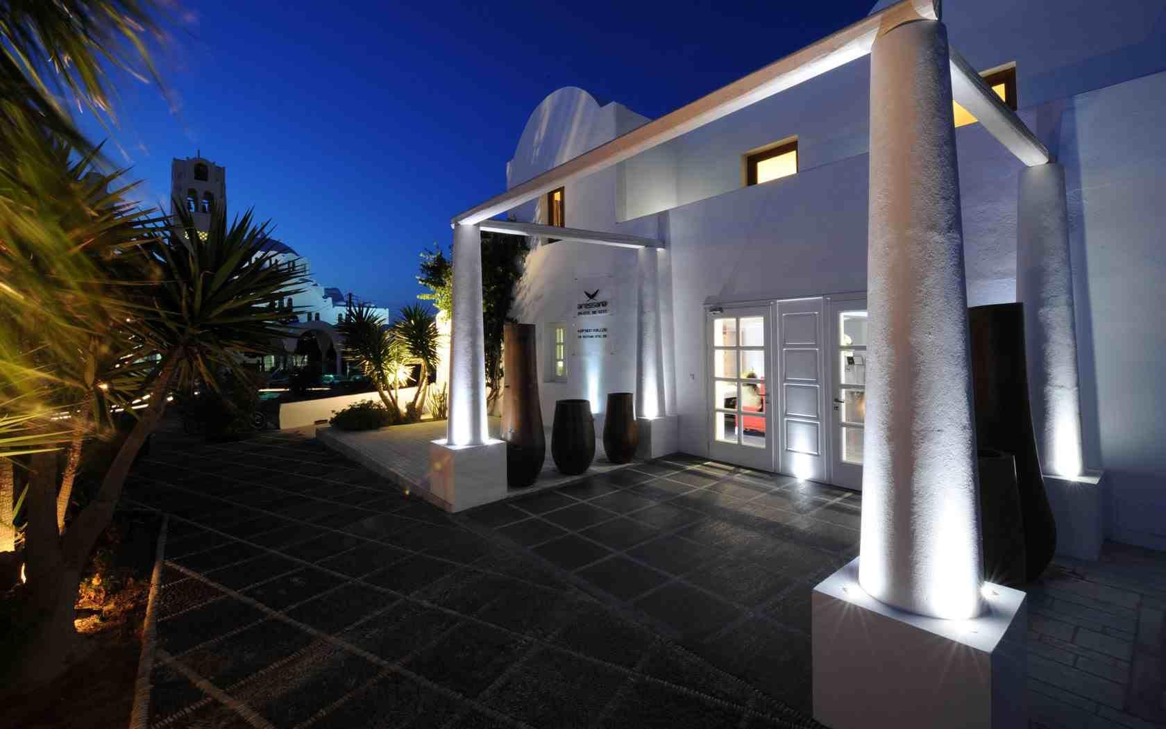 Aressana Spa Hotel Suites Santorini 5 Star Hotels Fira Santorini