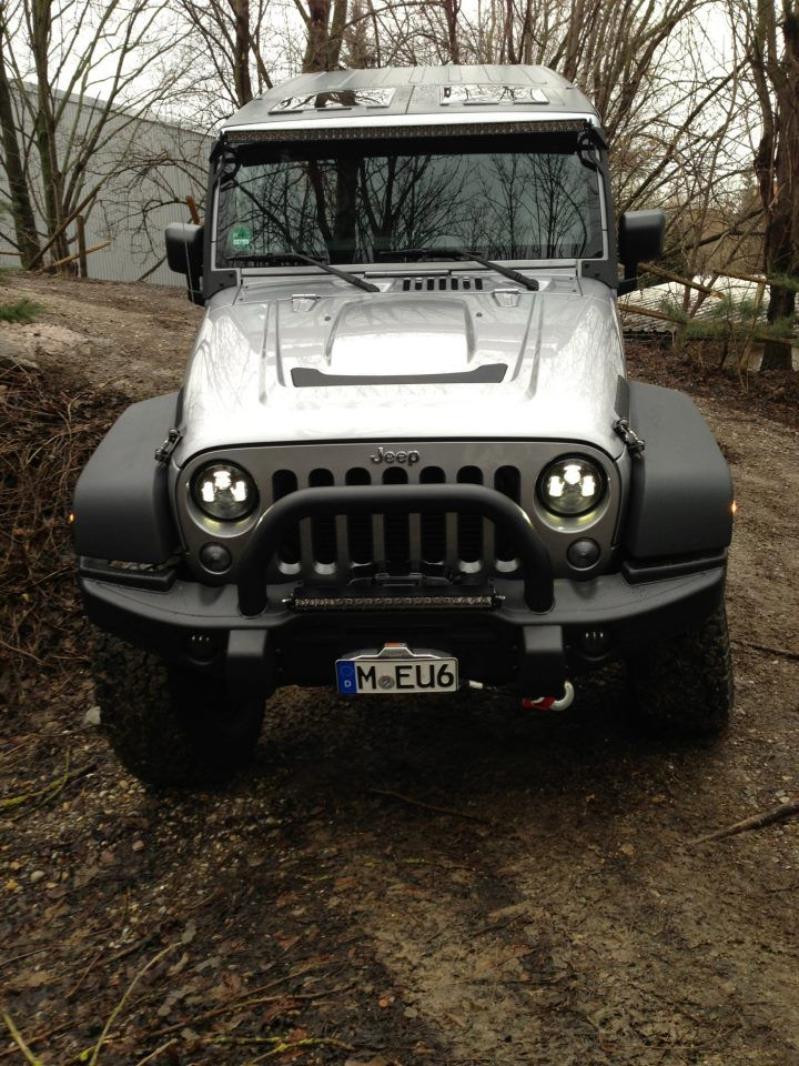 Pic Of J W Speaker Headlights Aev Hood Aev Bumper Jeetops Not