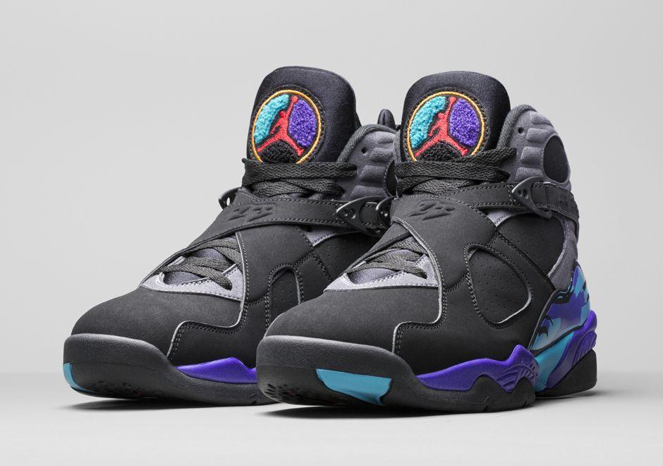 new style 615bf e3ed1 ... new style in hand sneaker review jordan 8 retro aqua video trillmatic  54bfe f229f
