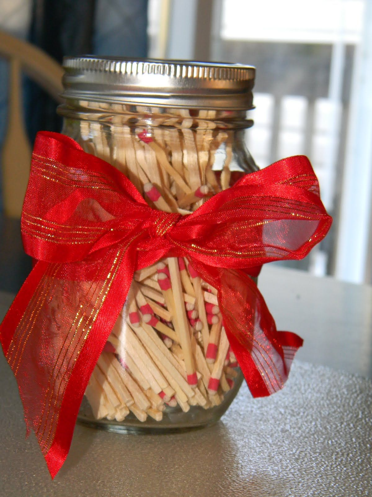 Handmade Pinterest Homemade Gifts So I saw this idea on