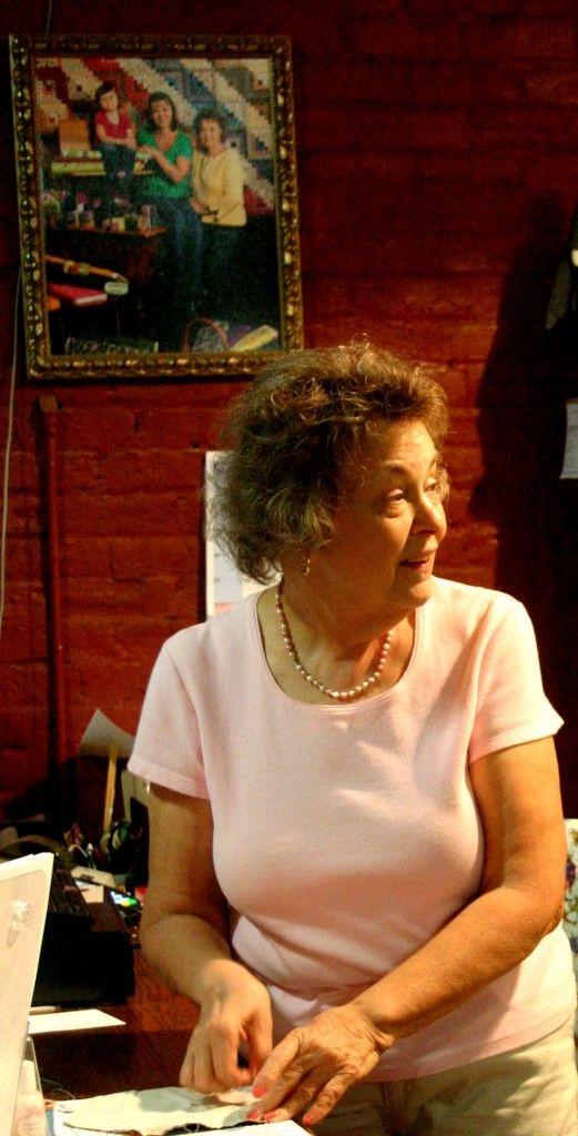 Rachel  - owner/operator of Rachel's Quilt Patch in Staunton Virginia