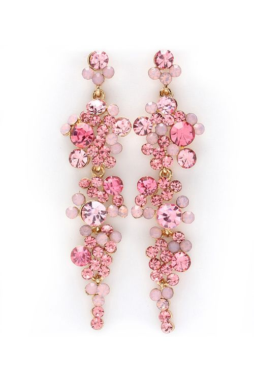 Sugary Crystal Aria Earrings | Awesome Selection of Chic Fashion Jewelry | Emma Stine Limited