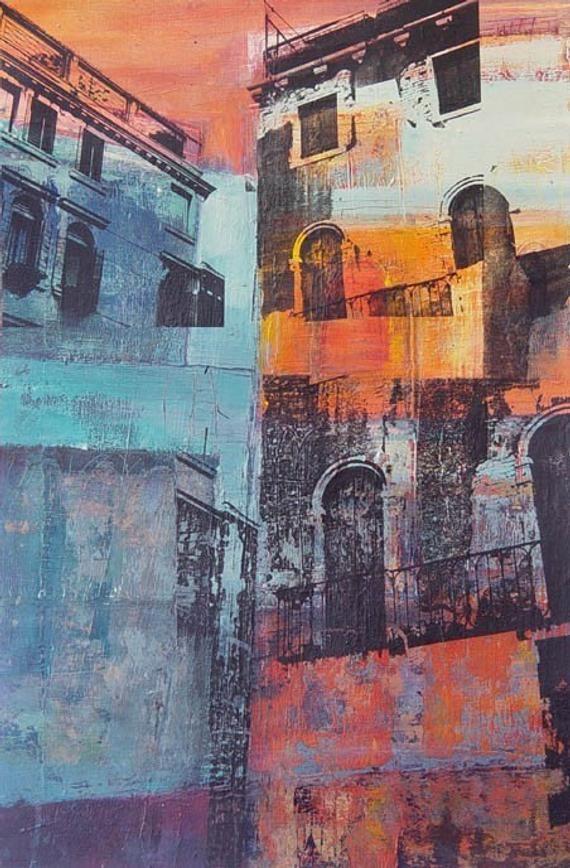 Venetian dwellings ( Giclee Print )