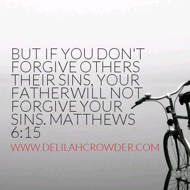Matthews 6:15