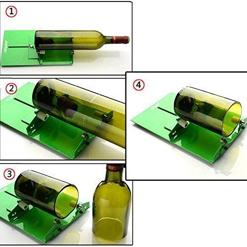 un coupe bouteille pour recycler ses bouteilles en verre et les transformer en vases. Black Bedroom Furniture Sets. Home Design Ideas