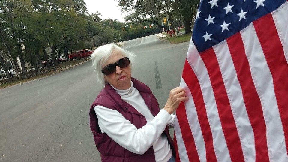 Met Dana on Veterans Day 2014!