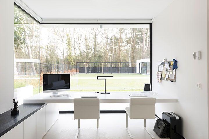 Badkamer Modern Landelijk : Strakke design villa te schilde keukens uytterhoeven interieur