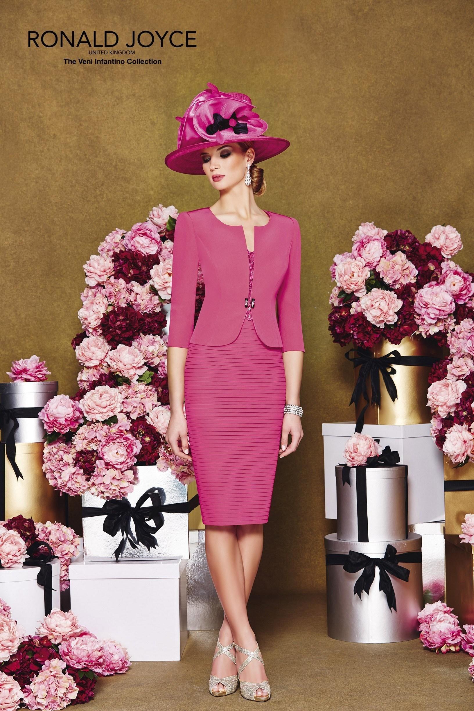 2015 Mother\'s Wedding Dresses Ronald Joyce V-Neck Pleats Applique ...