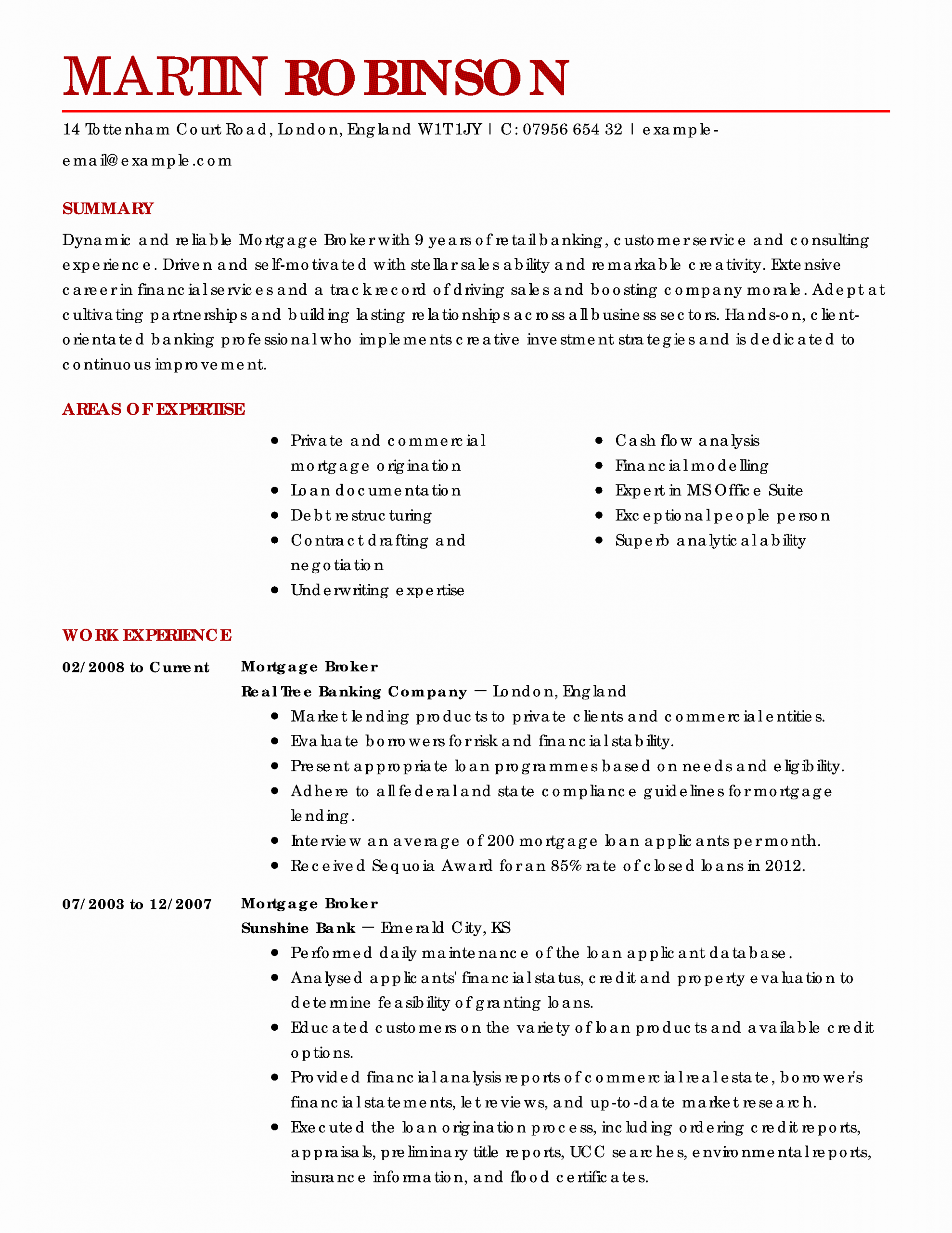 23 Real Estate Agent Resume Job Description in 2020 (With