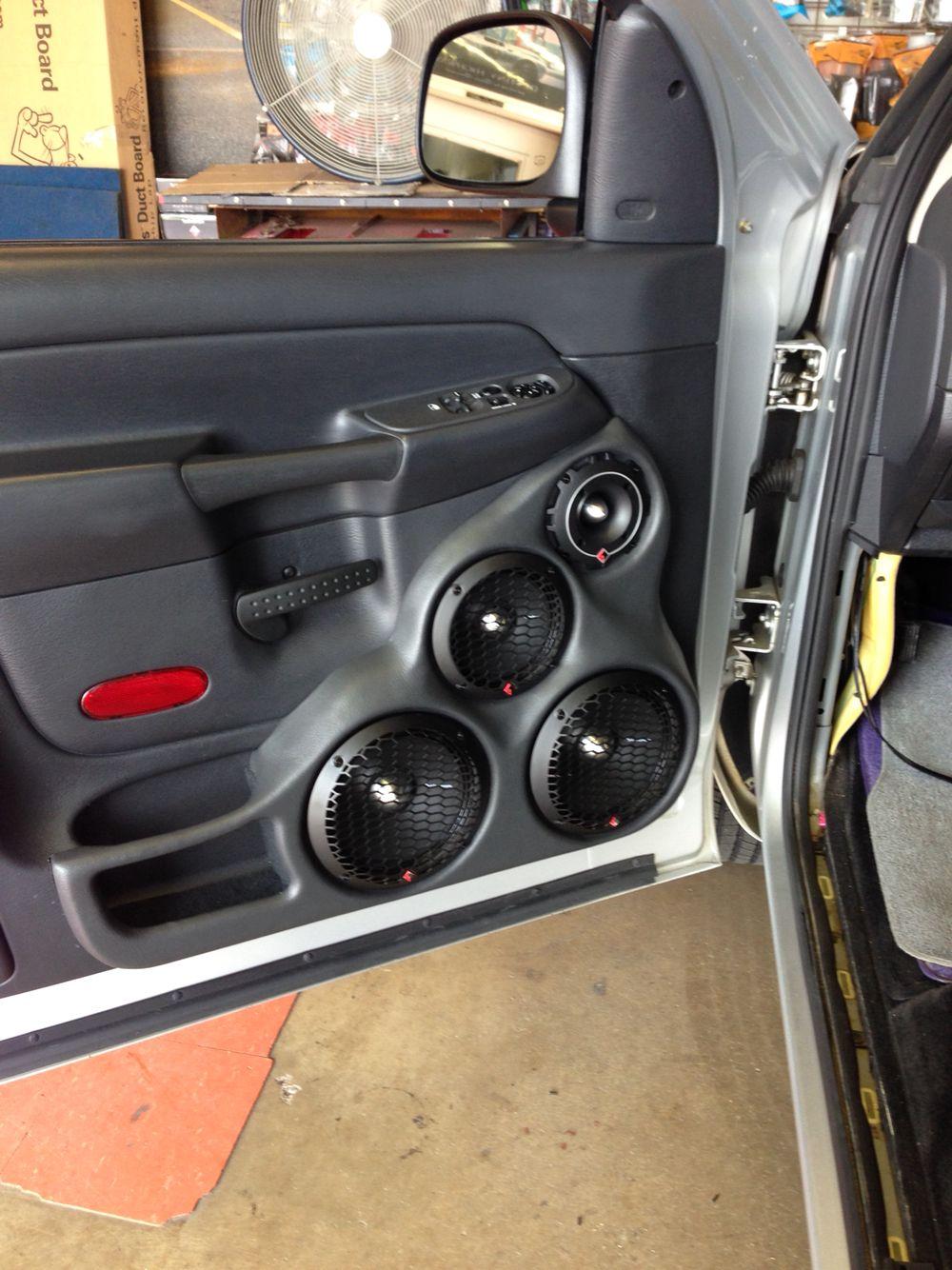 hight resolution of custom door panels for dodge truck earcandy