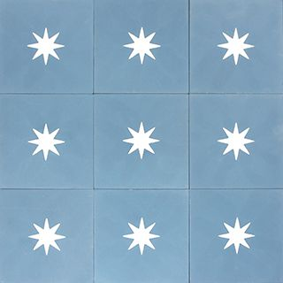 Adorable Star Tile   Especially For A Kids Bathroom (encaustic Cement Tiles)