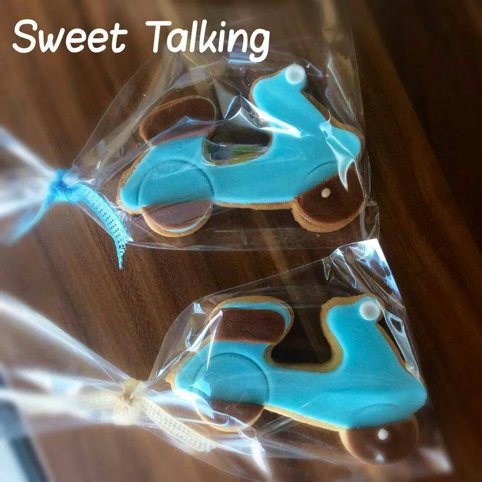 #Vespa biscuits #sweet talking