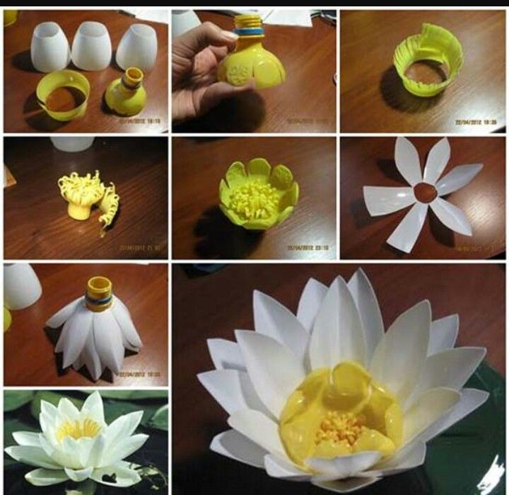Pin by drama queen on manualidades pinterest how to make a plastic bottle lily diy lily diy ideas diy crafts do it yourself diy projects plastic bottle crafts solutioingenieria Images
