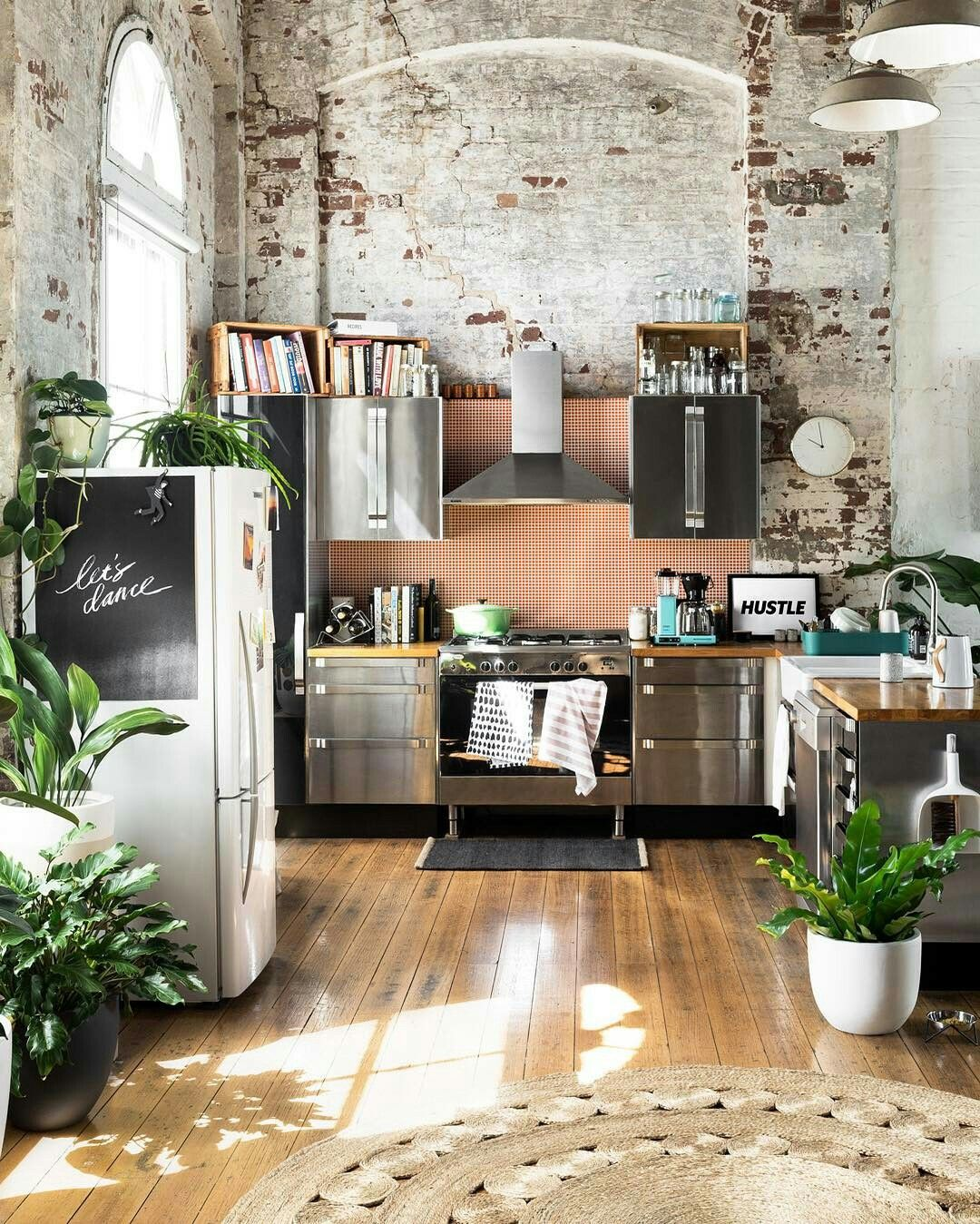 warehouses simple blocks set kitchen by loft butcher industrial design apartment love warehouse burns and olivier