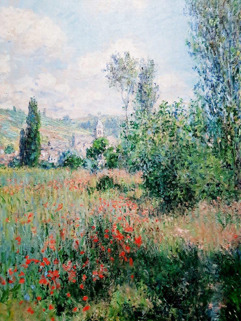 Monet Mohnblumen Gemälde