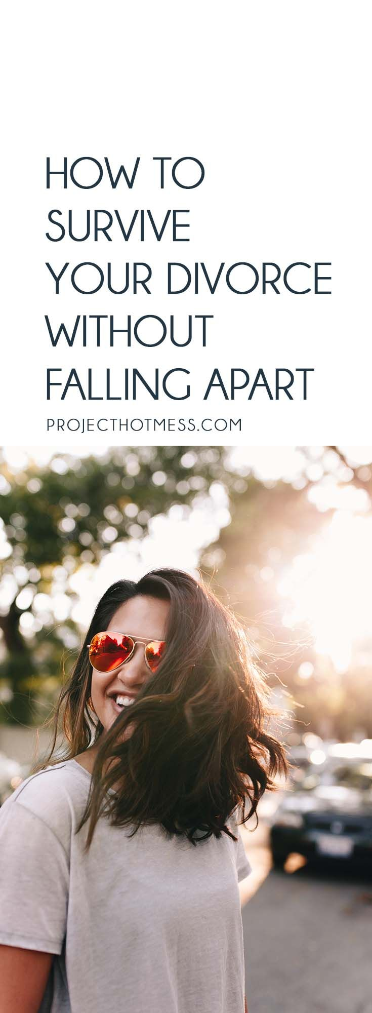 How To Survive Your Divorce Without Falling Apart