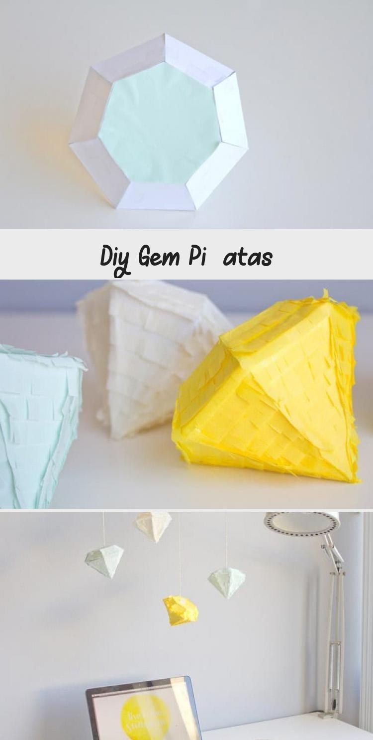 Photo of DIY Gem Piñatas #weddinganniversary #anniversary #partythemes #celebrate #Pi – …