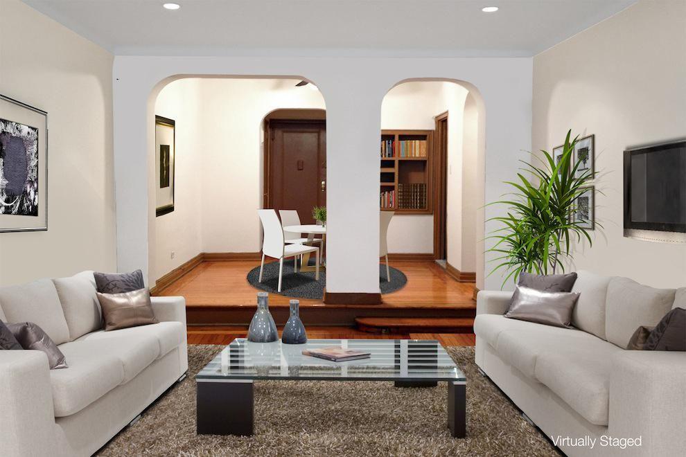 Sunken Living Room Step Down | Sunken Living Room, Dining ...