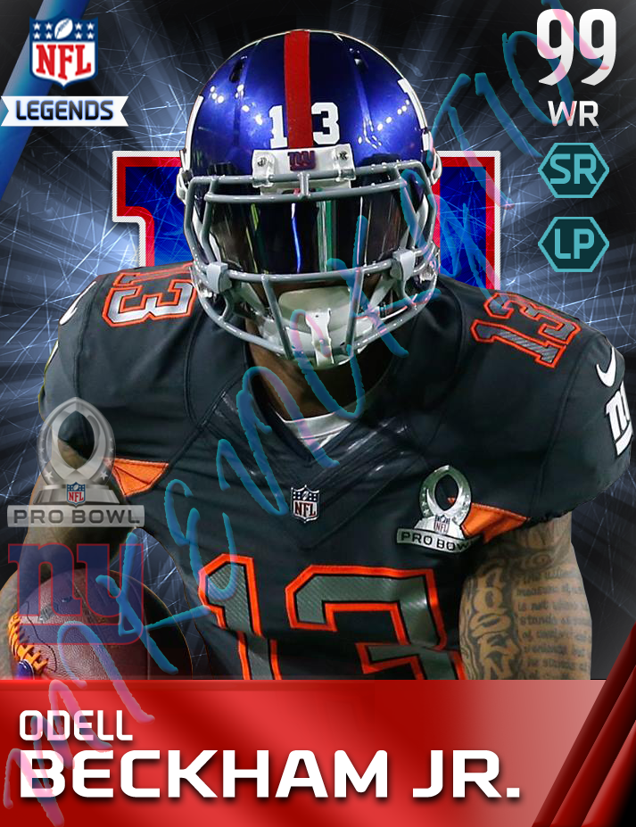 99 Overall Odell Beckham Jr Google Search Odell Beckham Jr Beckham Jr Giants Football