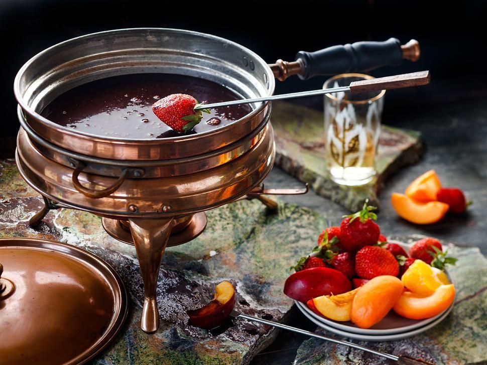 Chocolate fondue recipe viva with images chocolate