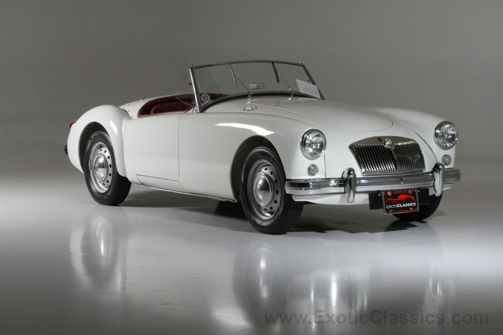 MG : MGA convertible | Convertible, Cars and Motor car