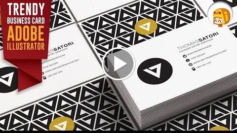 How to make a professional business card in illustrator satori how to make a professional business card in illustrator satori graphics httpvideotutorials411 colourmoves