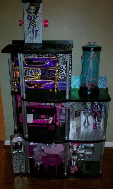 Monster High Doll House Monster High Dollhouse Monster High