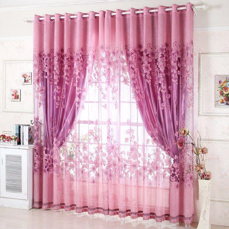 Cortinas De Lujo Rosadas | cortinas | Pinterest | Bed room, Living ...