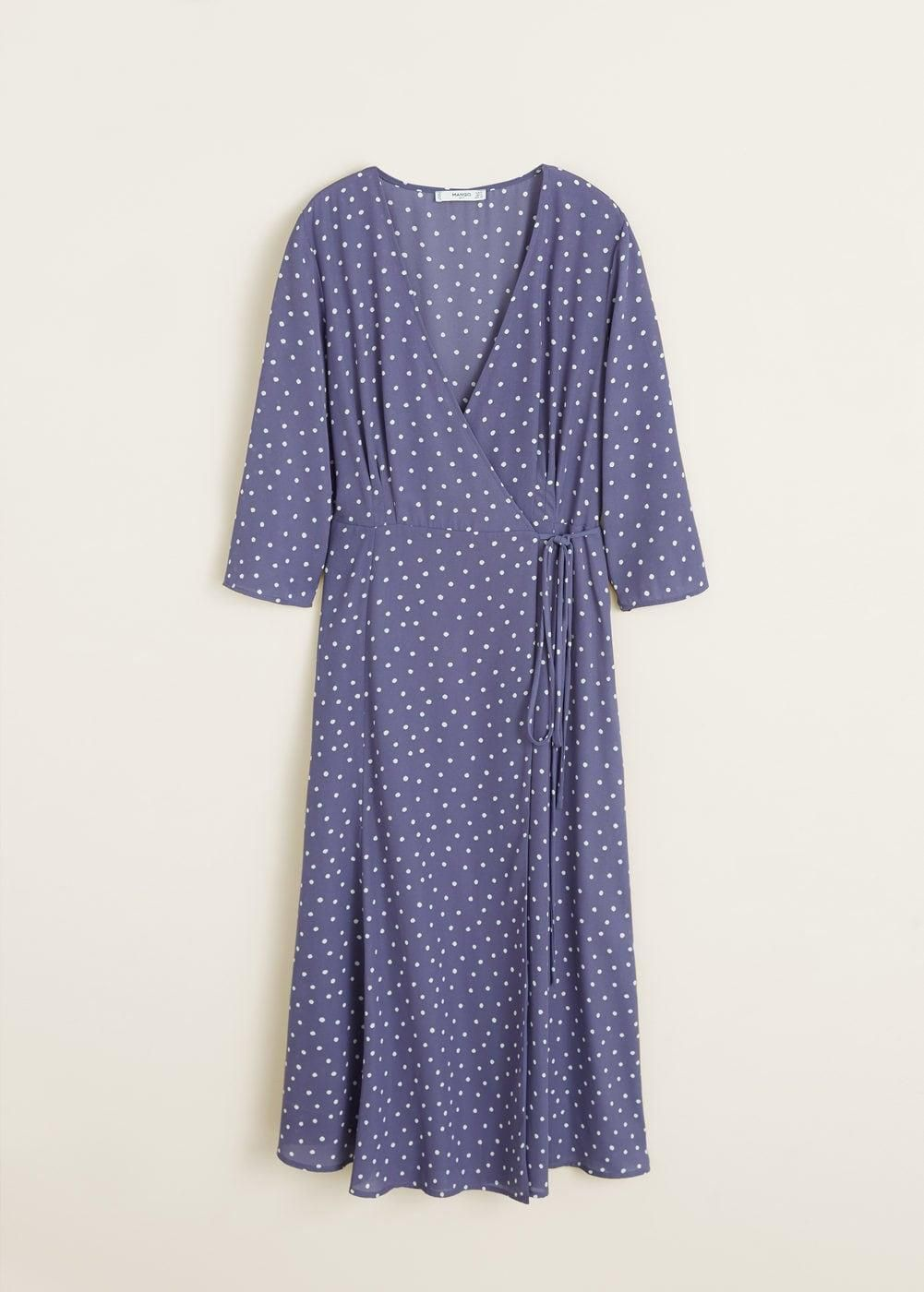 Vestido Con Lunares Vestidos De Lunares Vestido Con Pepas Estampados De Moda