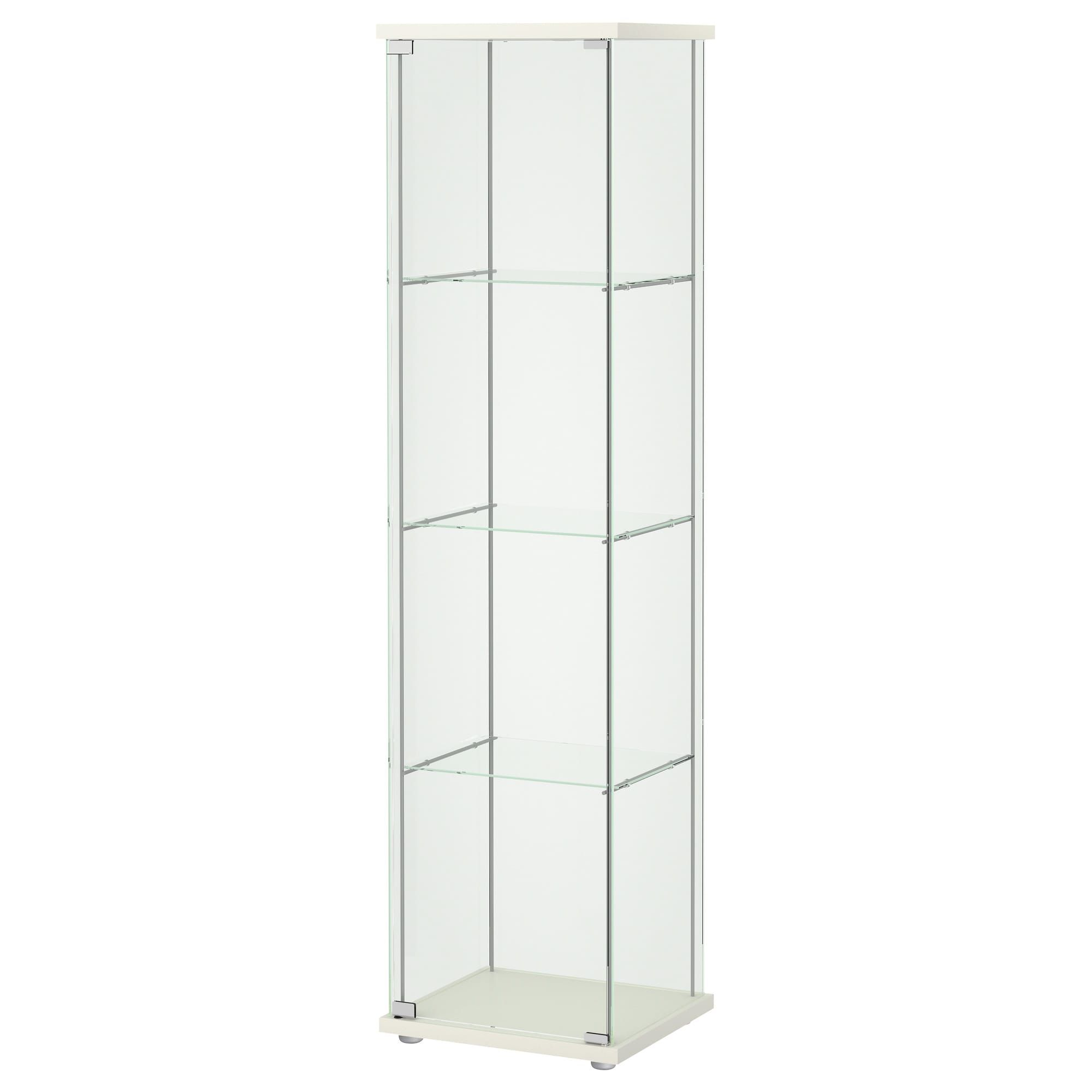 Ikea Detolf Glass Door Cabinet White In 2018 Gautland 1