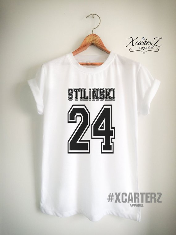 498c0a0b233 Stilinski Shirt STILINSKI 24 T-Shirt Print on Front or Back Side Men Women  Unisex Teen Tumblr T-Shir