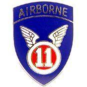 U.S. Army 11th Airborne Division pin - Meach's Military Memorabilia & More