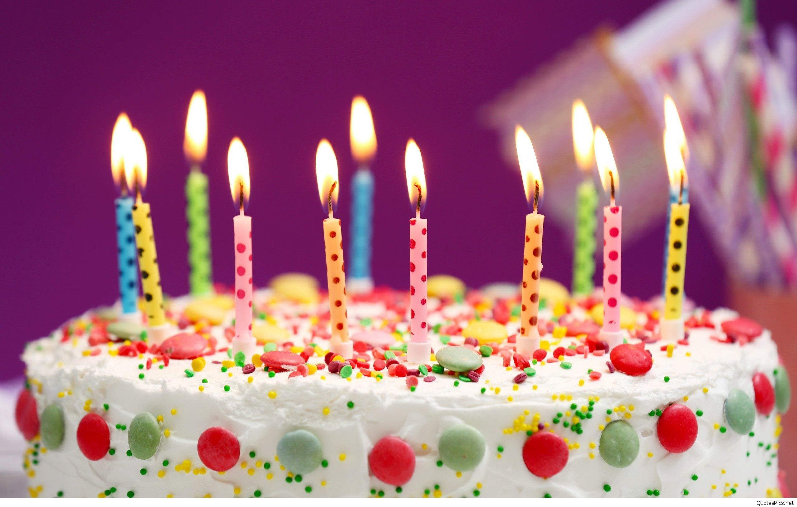 2560x1630 Happy Birthday Cake And Candles Wallpaper Happy Birthday Cakes Happy Birthday Cake Images Birthday Cake Hd