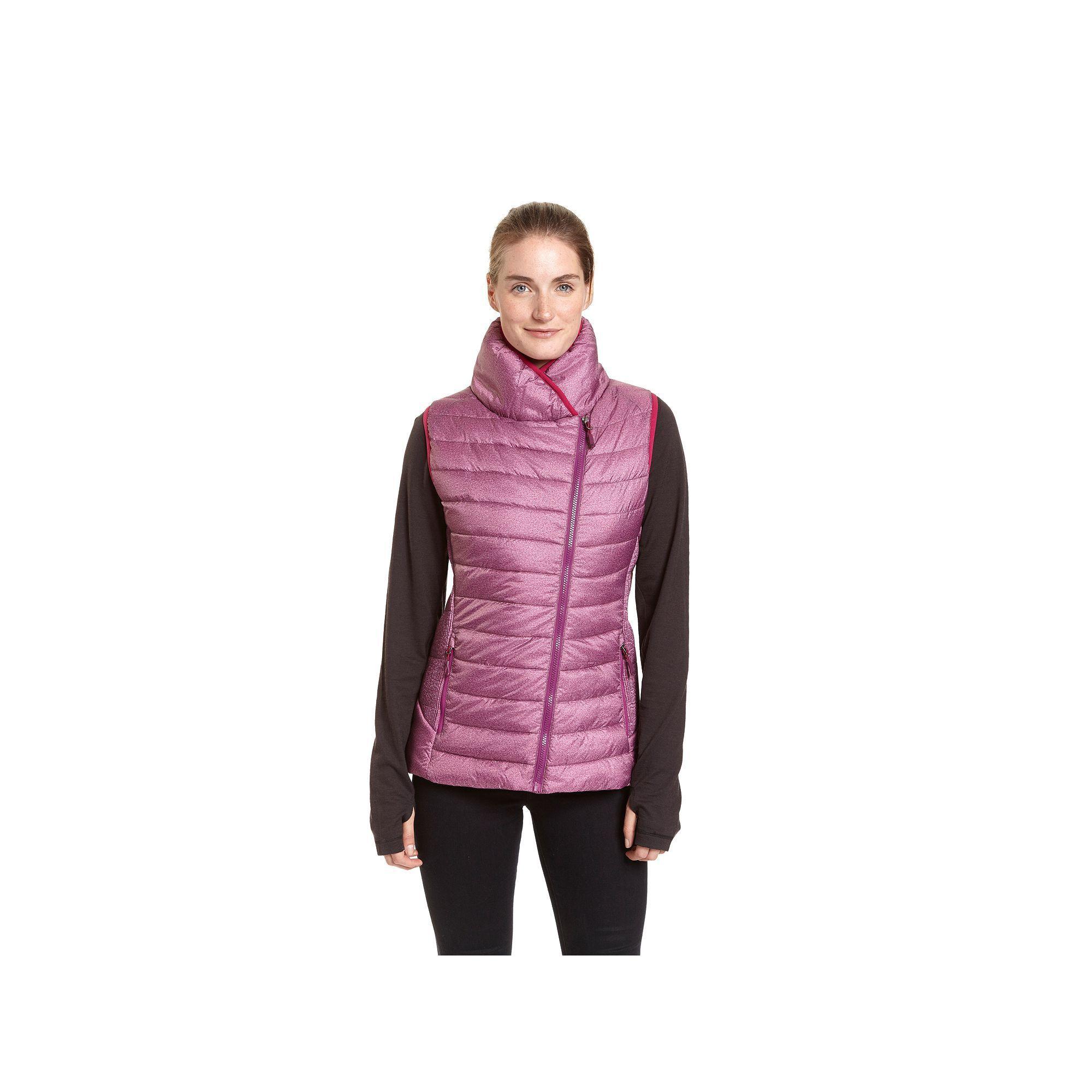 cce872b052163 Women s Champion Asymmetrical Puffer Vest. Plus Size ...