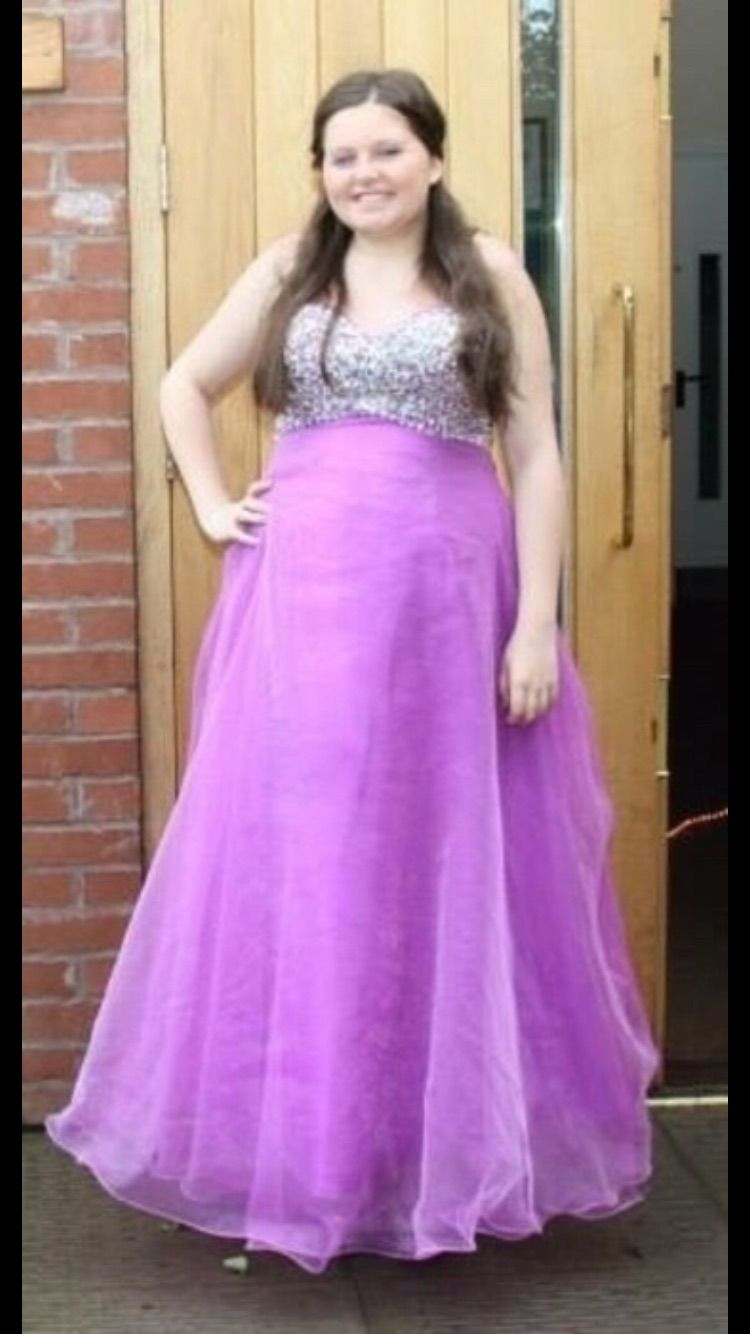 New dress for sale! Purple silver jewled dres for just £100! Save 71 ...
