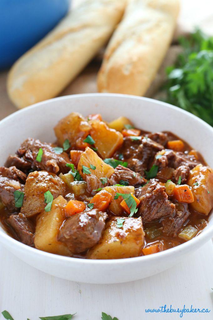 Best Ever One Pot Beef Stew | Recipe | Best beef stew ...
