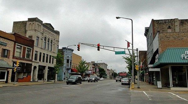 Downtown Elkhart Indiana Born A Hoosier Elkhart