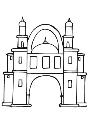 Ausmalbild Schloss Ausmalbilder Ausmalen Ausmalbild