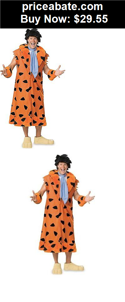 Men-Costumes Halloween Costume The Flintstones Fred Flintstone Adult Plus Size With Wig And  sc 1 st  Pinterest & Men-Costumes: Halloween Costume The Flintstones Fred Flintstone Adu ...