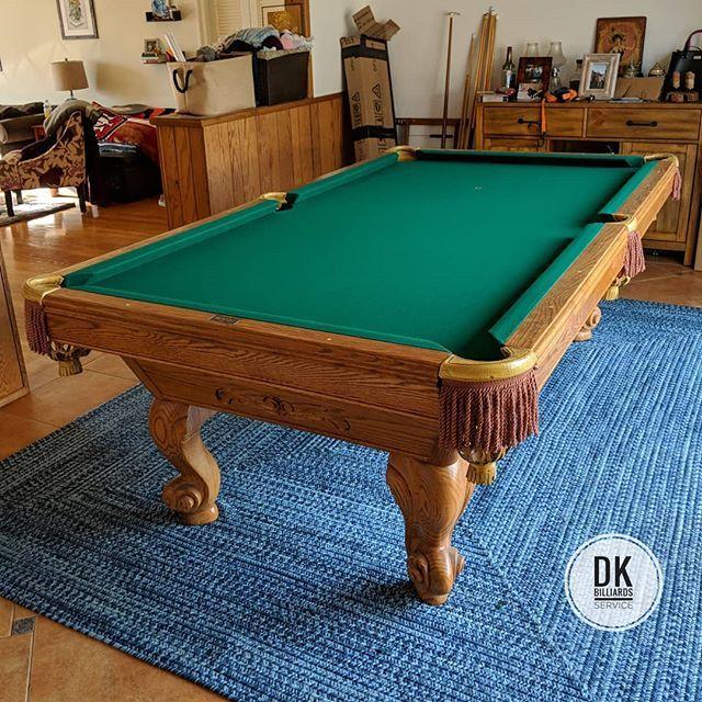 Older Model Made In USA Brunswick Billiards Dkbilliards Playpool - Old brunswick pool table
