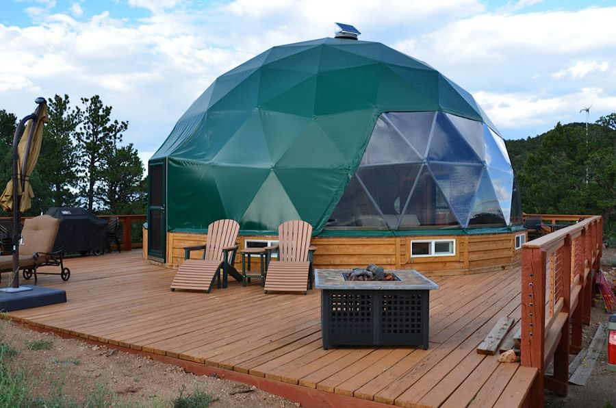 Colorado Living Dome - Tiny House Swoon  Dom  Pinterest