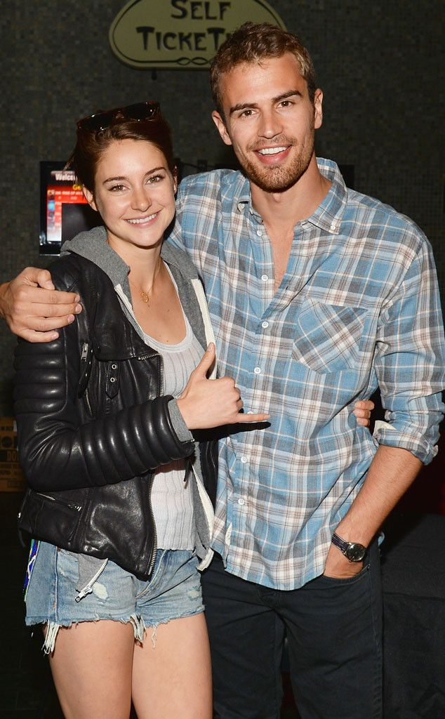 "Shailene Woodley & Theo James at a private screening of ""Divergent"" March 17, 2014"
