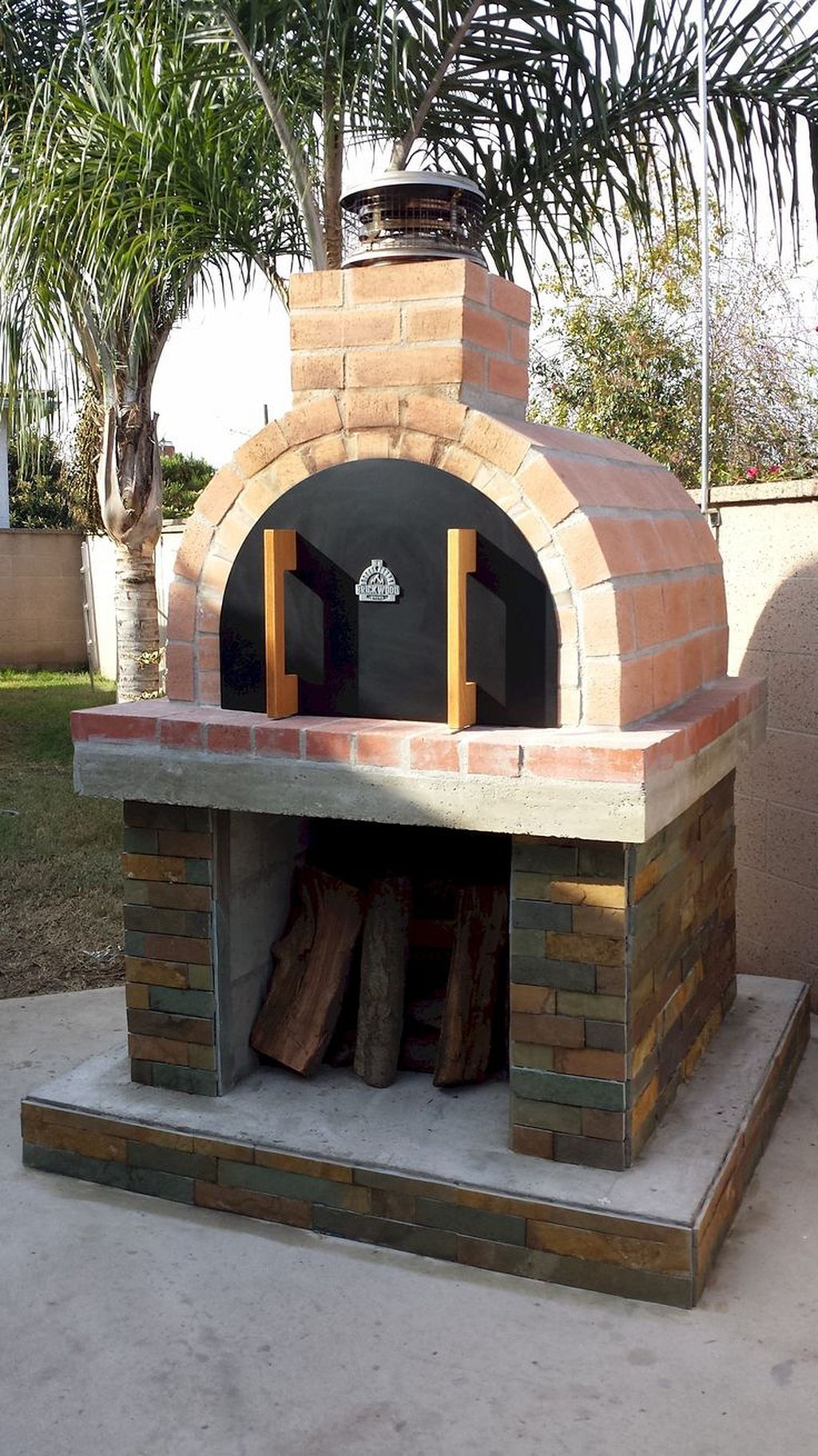 25 Best Diy Backyard Brick Barbecue Ideas Pizza Oven Outdoor Outdoor Pizza Pizza Oven Outdoor Diy
