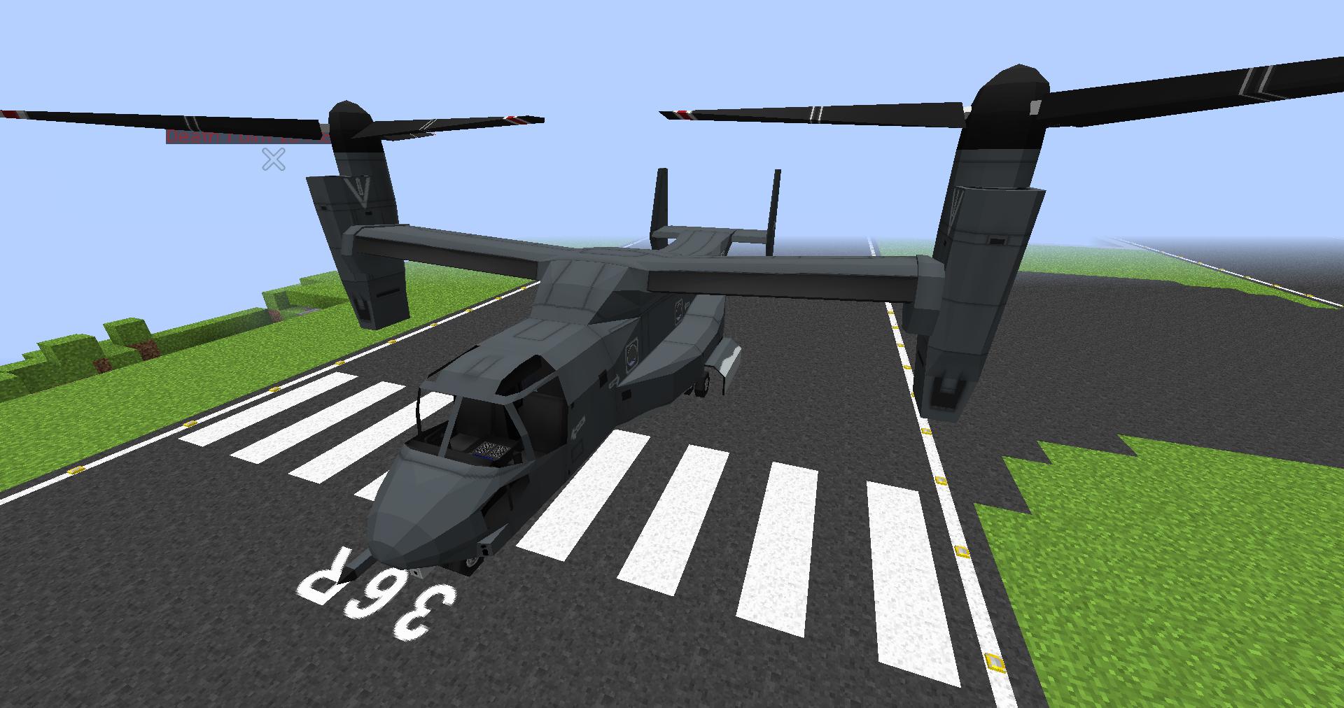 Мод на вертолёты для майнкрафт 1.7.10