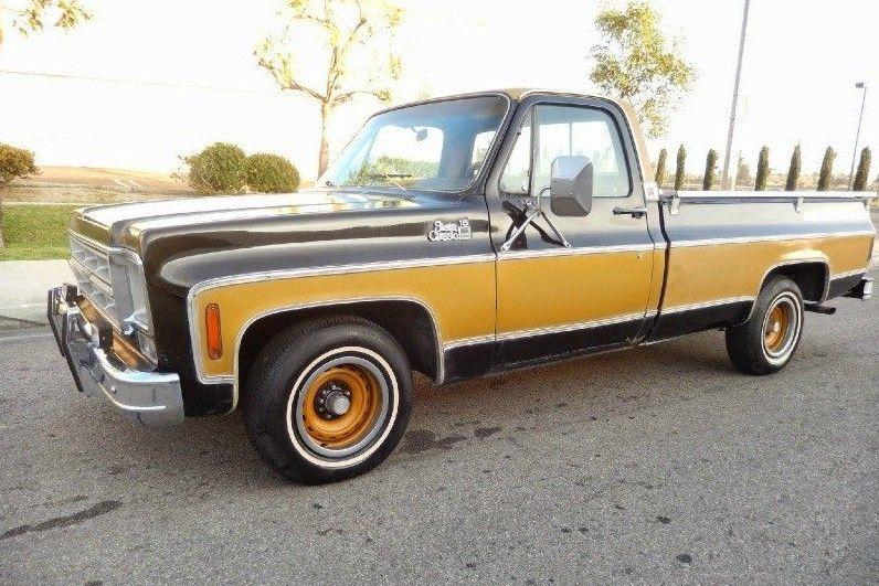 Gentleman Jim 1975 Gmc Sierra Pickup Gmc Trucks Trucks Gmc